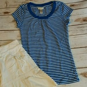Limited Too Stripe Top   Like New   Girls Size 14